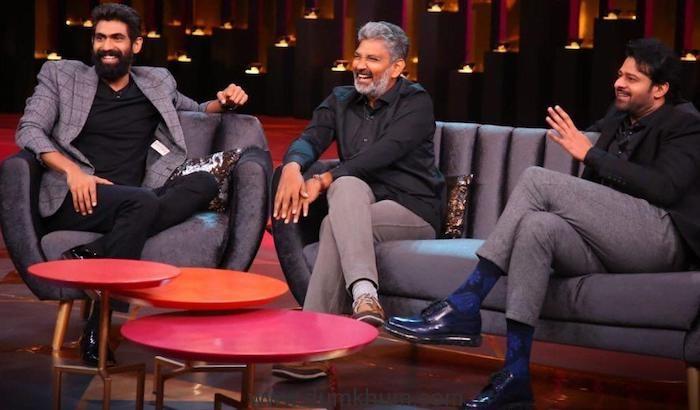 SS Rajamouli, Prabhas and Rana Dagubatti on Koffee with Karan-