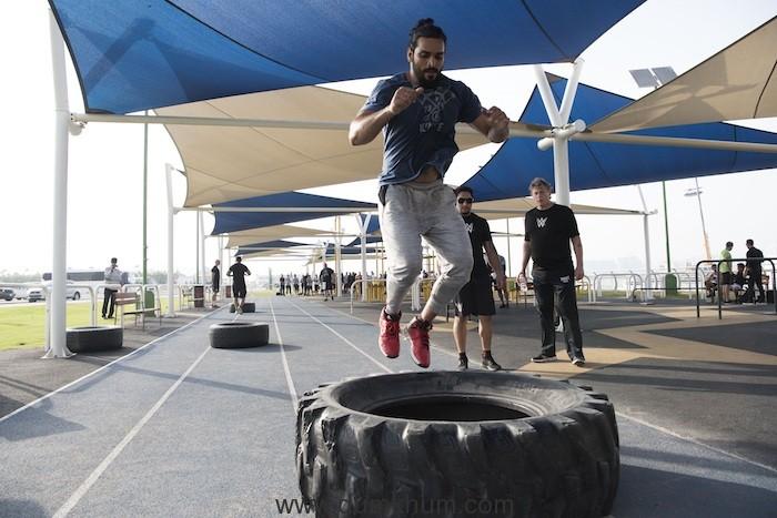 Saurav Gurjar - Dubai tryout