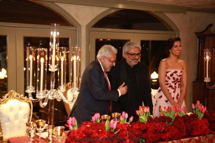 Shalabh Kumar and his daughter Manasvi host Dinner for Film-maker Sanjay Leela Bhansali