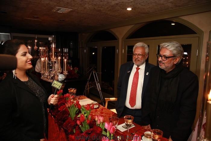 Shalabh Kumar and his daughter Manasvi host Dinner for Film-maker Sanjay Leela Bhansali -2