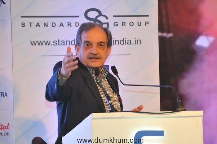 The Union Steel Minister Shri Chaudhary Birender Singh gave away Steel Awards 2018--