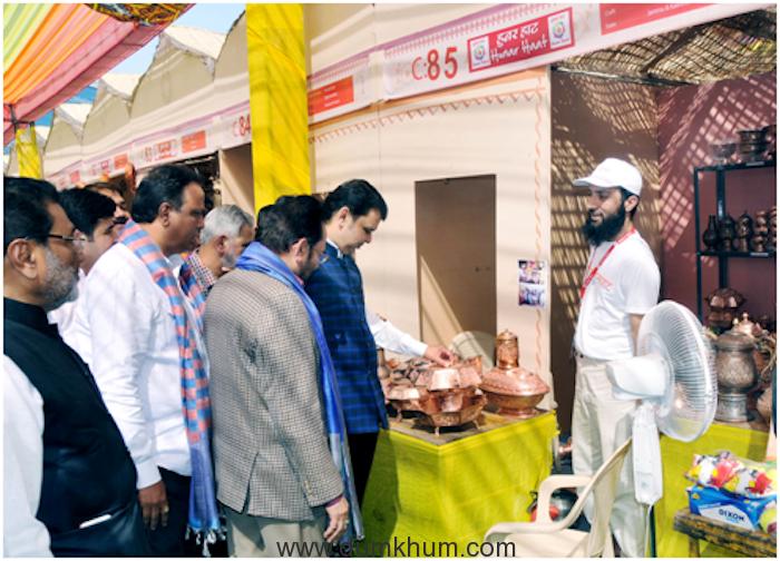 Union Minority Affairs Minister Shri Mukhtar Abbas Naqvi & Shri Fanavis CM