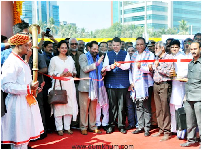 Union Minority Affairs Minister Shri Mukhtar Abbas Naqvi & Shri Fanavis CM-