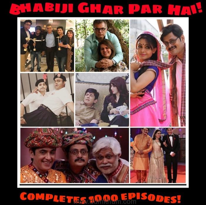 Bhabiji Ghar Par Hain completes 1000 episodes