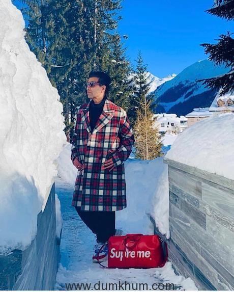 Karan Johar represents Bollywood at Davos-1