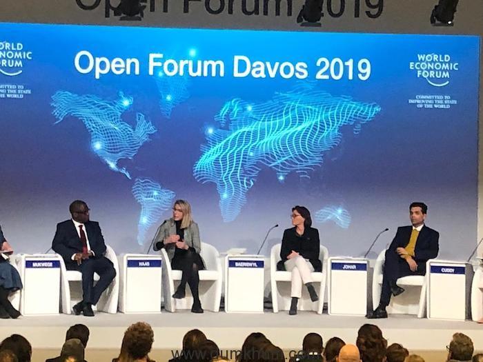 Karan Johar represents Bollywood at Davos