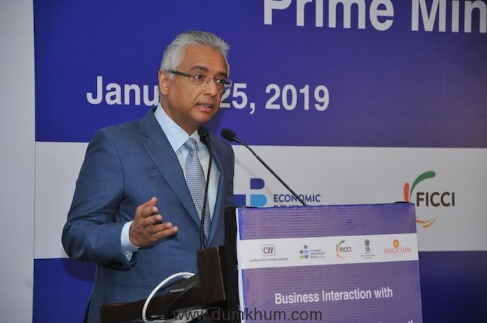 Prime Minister of Mauritius Mr. Pravind Kumar Jugnauth