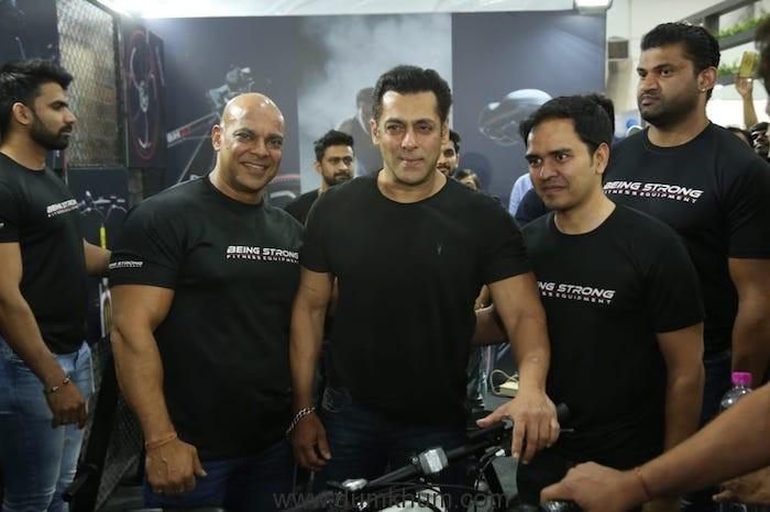 Salman Khan at bh2