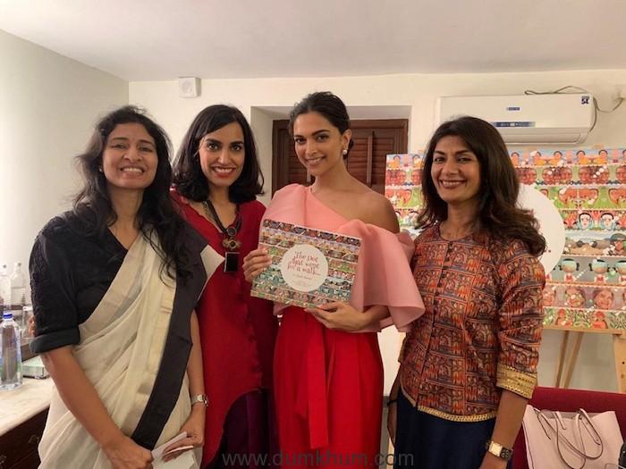 Sarada Akkinemi, Lakshmi Nambira, Deepika Padukone and Reema Gupta
