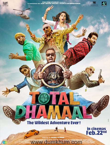 Total Dhamaal Poster 2
