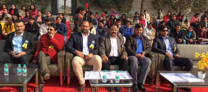 sports day - pictures 1 - indrajeet Singh with guests and children
