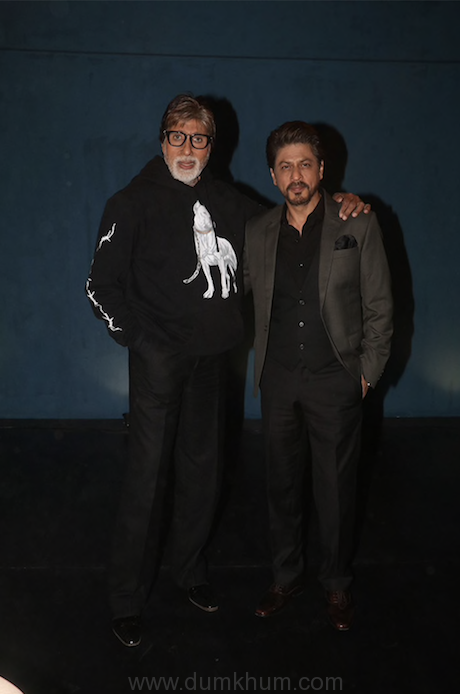 Amitabh Bachchan & Shah Rukh Khan in Badla Unplugged