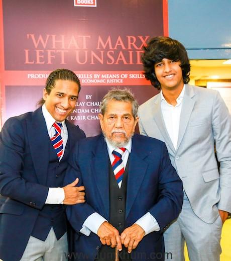 Authors Arindam Chaudhuri, Malay CHaudhuri & Che Kabir Chaudhuri