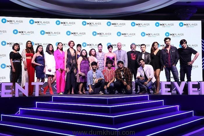 Cast of MX Player Originals at MX Player Launch in Mumbai_19022019