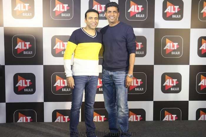 Farhad Samji and Paritosh Painter at the launch of Booo... Sabki Phategi