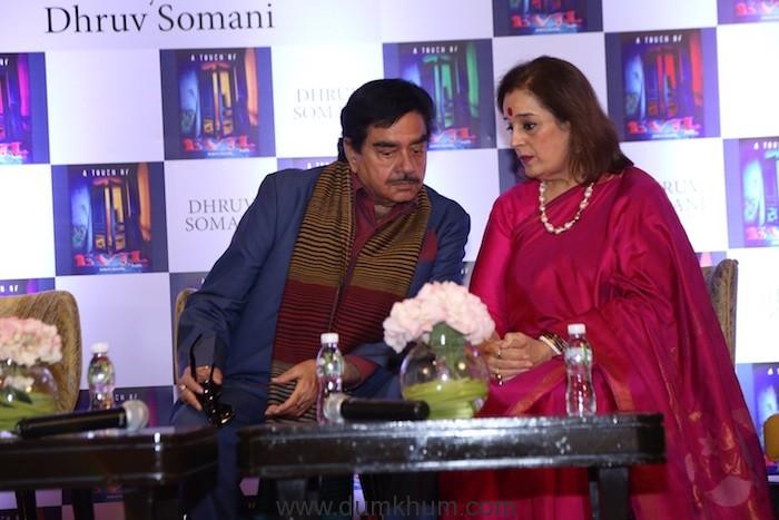 Shatrughan Sinha & Poonam Sinha