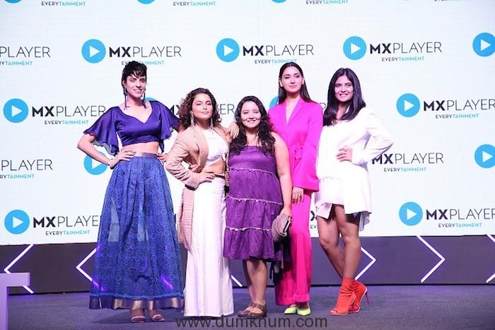 Team Aafat at MX Player Launch in Mumbai _19022019
