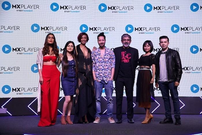 Team Hey Prabhu! at MX Player Launch in Mumbai_19022019