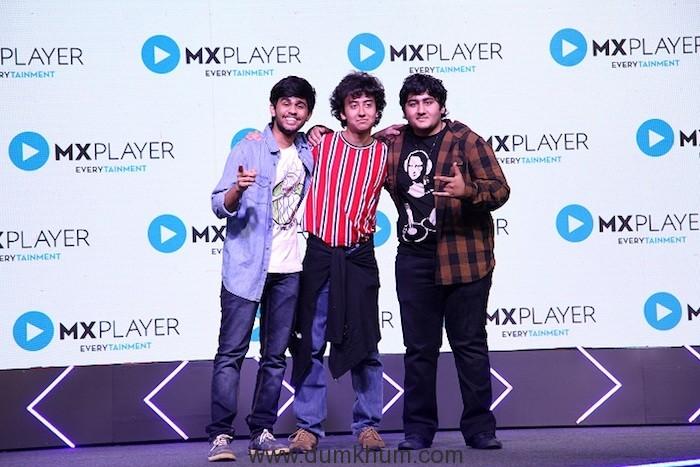 Team ImMature at MX Player Launch in Mumbai_19022019