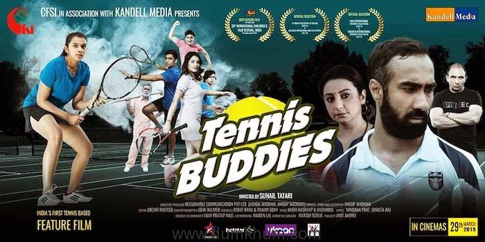 Real tennis star Dakshata Patel to debut in Bollywood reel life with Tennis Buddies !