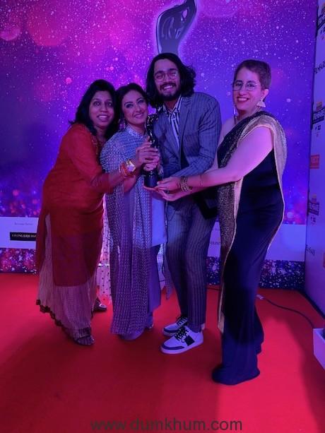 Divya Dutta, Bhuvan Bam & Guneet Monga(2)