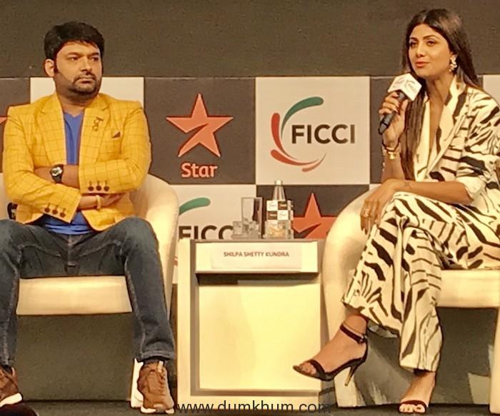 Kapil Sharma - Shilpa Shetty - Ficci Frames 2019-1