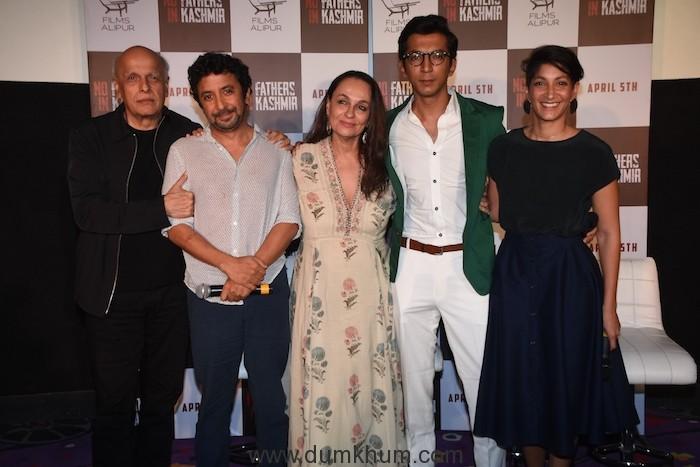 Mahesh Bhatt, Ashvin Kumar, Soni Razdan, Anshuman Jha and Maya Sarao - 1