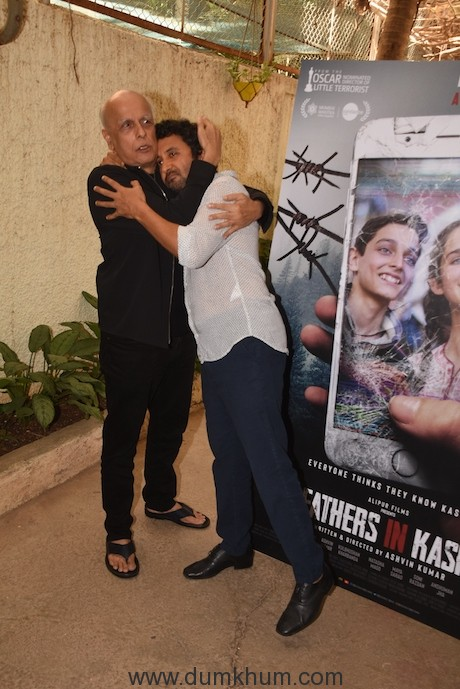 Mahesh Bhatt and Ashvin Kumar