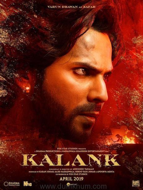 Varun Dhawan - Kalank