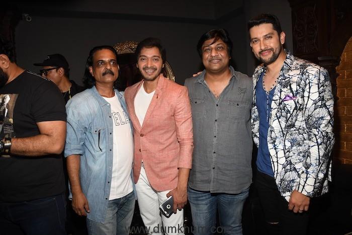 3. Ashwini Chaudhary, Shreyas Talpade, Sajid Qureshi, Aftab Shivdasani during SETTERS film music launch at SIN CITY DSC_3772