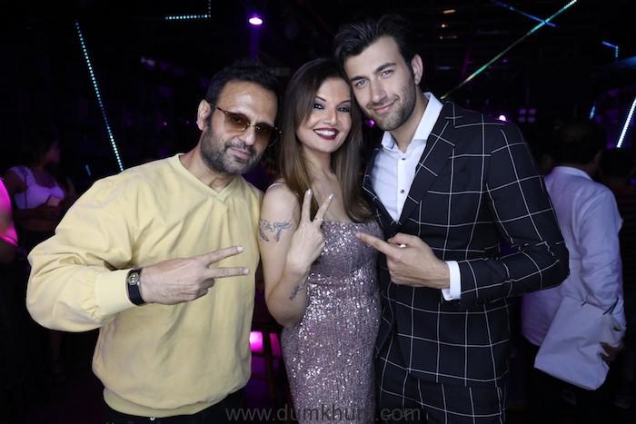 4. Rohed Khan, Deepshikha Nagpal and DJ Sheizwood during the song launch KABHI AAR KABHI PAR AMP_0736