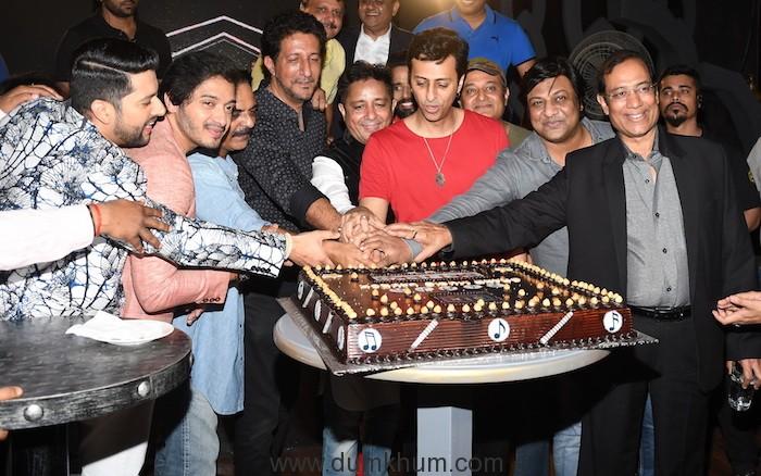 Aftab Shivdasani, Shreyas Talpade, Ashwini Chaudhary, Salim,Suleiman, SAjid Qureshi during SETTERS film music launch at SIN CITY