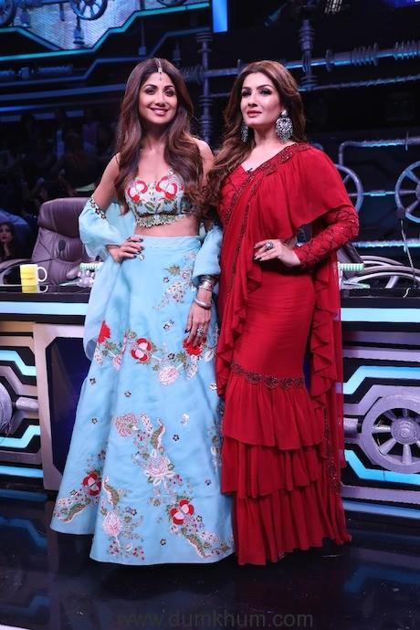 Raveena's nostalgia with 'Tip Tip Barsa Pani' performance on Super Dancer 3