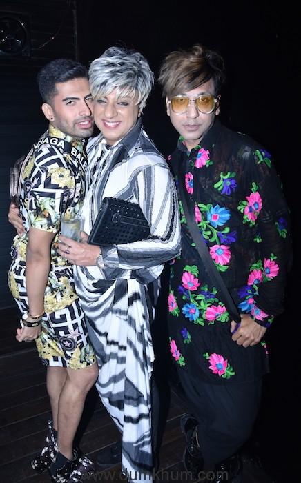 Sushant Divgikar with Rohit Verma and Rehan Shah during the song launch KABHI AAR KABHI PAR DSC_1219