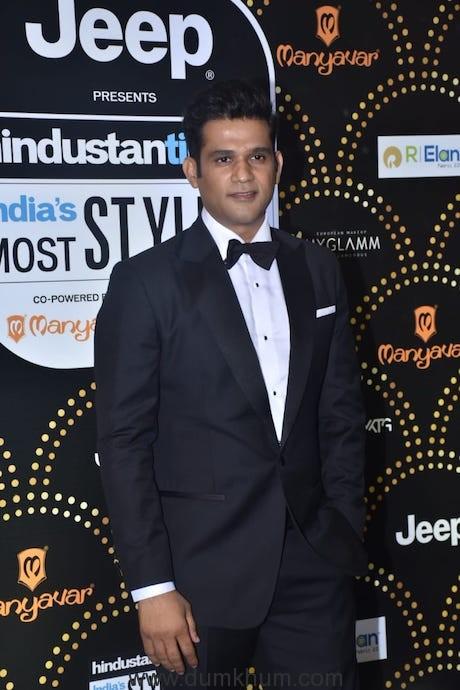 Tumbbad Actor Sohum Shah at HT Awards