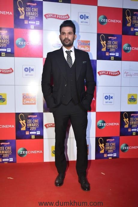 Tumbbad Actor Sohum Shah at Zee Cine Awards