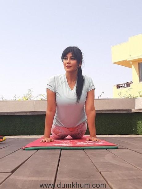 Warda Nadiadwala spreading fitness mantras !