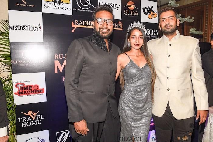 RUBARU MR.INDIA  2019 title won by Syed Zain Mega Model Contest