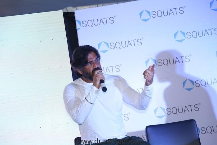 Actor Suniel Shetty for SQUATS Event