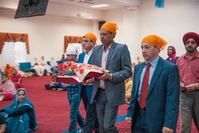 Cricketing legend Kapil Dev visits the Gurudwaras in the US- Selma Gurudwara, Fresno, California (3)
