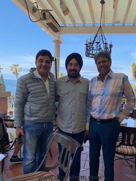Cricketing legend Kapil Dev visits the Gurudwaras in the US
