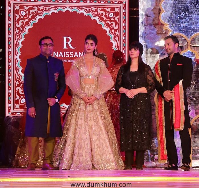 Vinay Singh, Pooja Hegde, Neeta Lulla and Terence Lewis