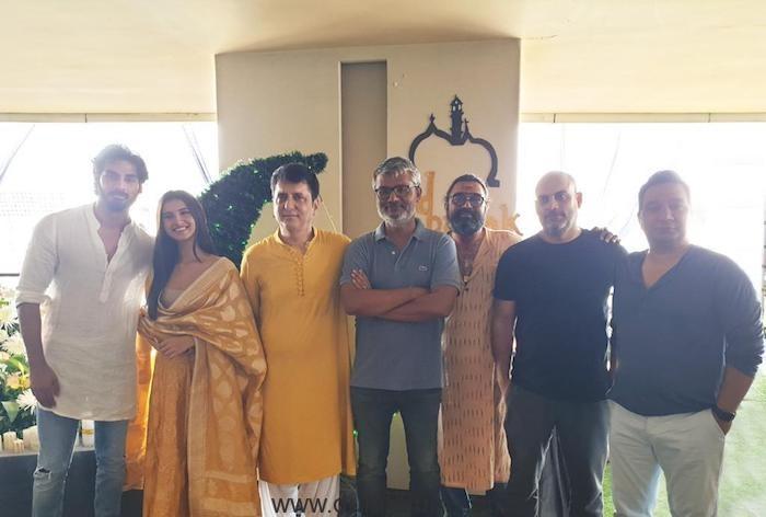 Ahan Shetty, Tara Sutaria, Nitesh Tiwari, Shree Narayan Singh, Saket Chaudhry, Farhad Samji & Ahmed Khan.