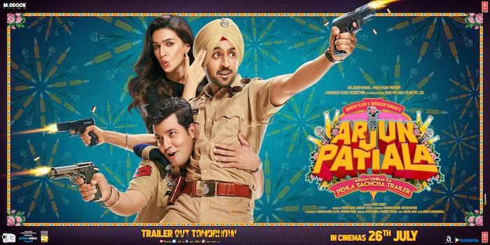 Arjun Patiala Second Poster