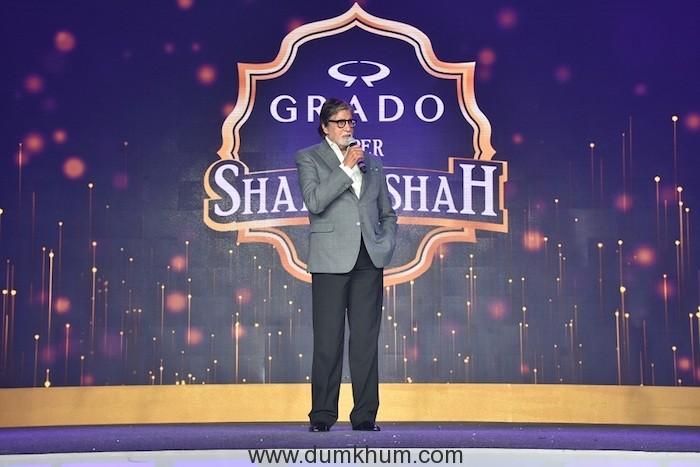 GRADO_Brand Ambassador_Amitabh Bachchan at GRADO Super Shahenshah Meet