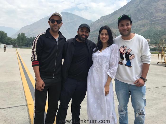 Jhanvi Kapoor commences shoot of Roohiafza in Manali