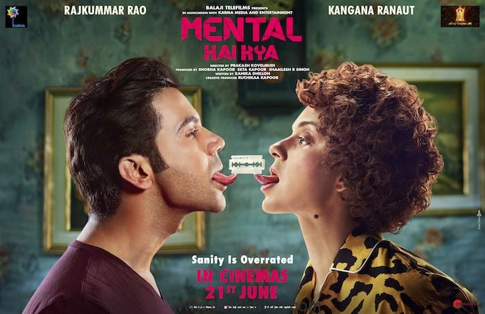 'Mental Hai Kya' - Kangana Ranaut and Rajkummar Rao starrer to release on 21st June