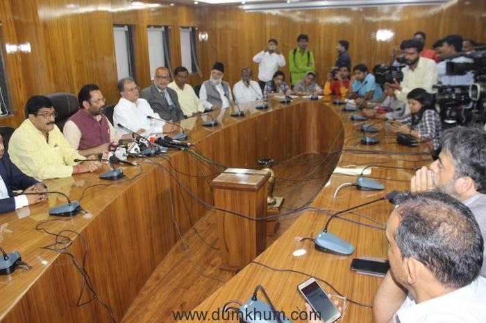Minority Affairs Minister's meet on Haj-