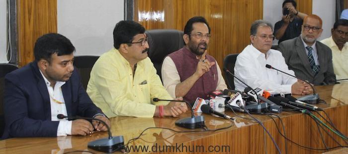 Minority Affairs Minister's meet on Haj