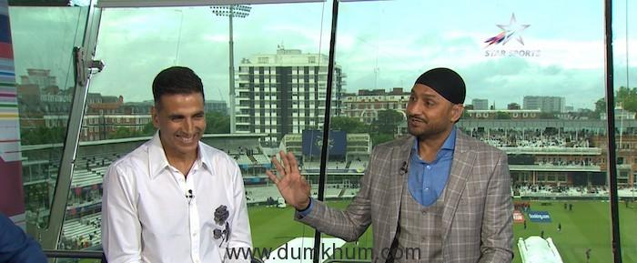 Akshay Kumar on Philips Hue Cricket Live on Star Sports Network (2)